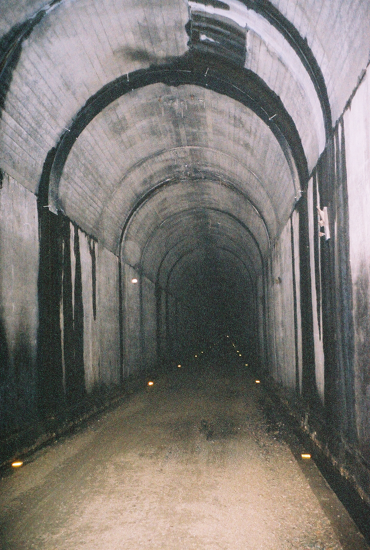 Inside a Dark Tunnel