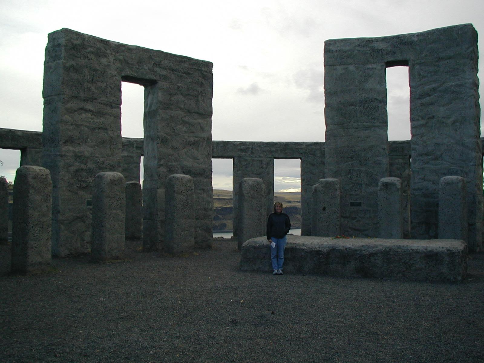 At Stonehenge