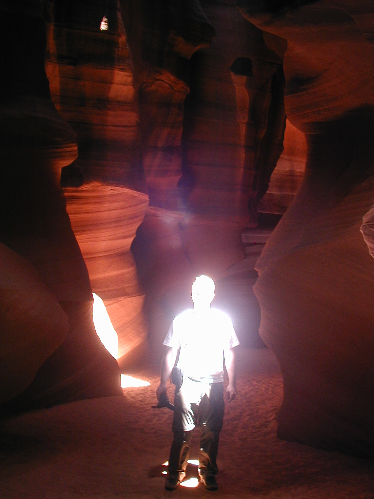 The Ghost of Antelope Canyon