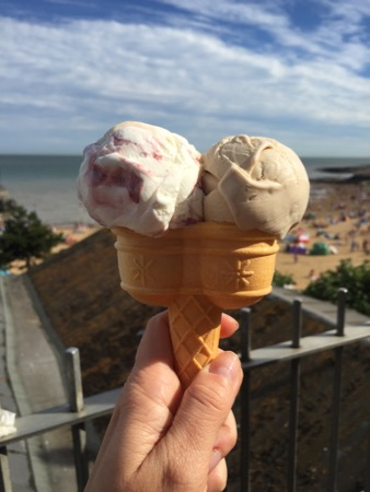 Ice cream in Broadstairs.