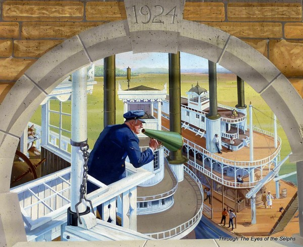 For most of the 19th century and first third of the 20th, steamboats were vital to the economic livelihood of the area.