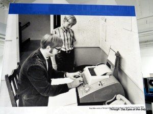 Paul Allen and Bill gates in 1968 at a Seattle school
