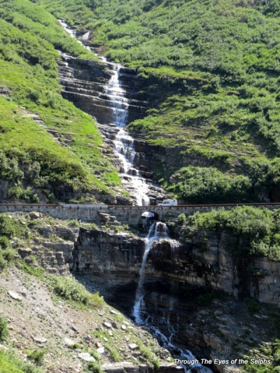 Haystack waterfall