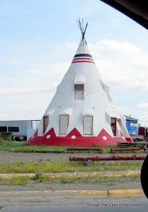 Tepees come in many sizes