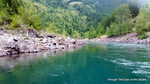 Middle Fork of Flathead river