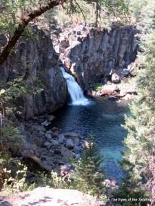 McCloud River upper falls