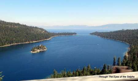 The famous Emerald Bay and Fannette Island
