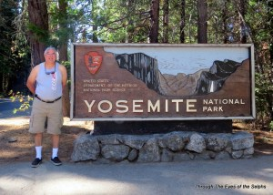 We finally made it to the world famous Yosemite NP