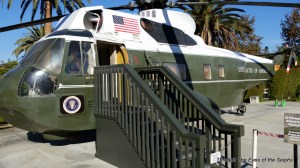 This is the helicopter that Nixon used when he left the White House for the last time