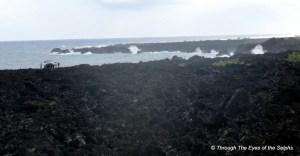 This is the East tip of Hawaii Island, Cape Kumukahi