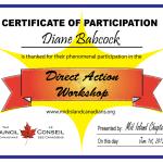 direct action workshop