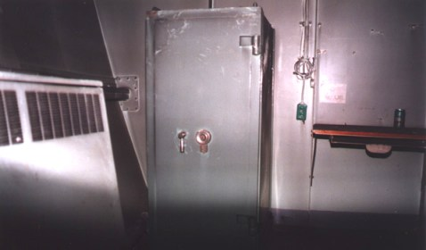Alone in the little room across the hall where the huge safe was kept brought a sense of sealed memories for an unforgettable affair.