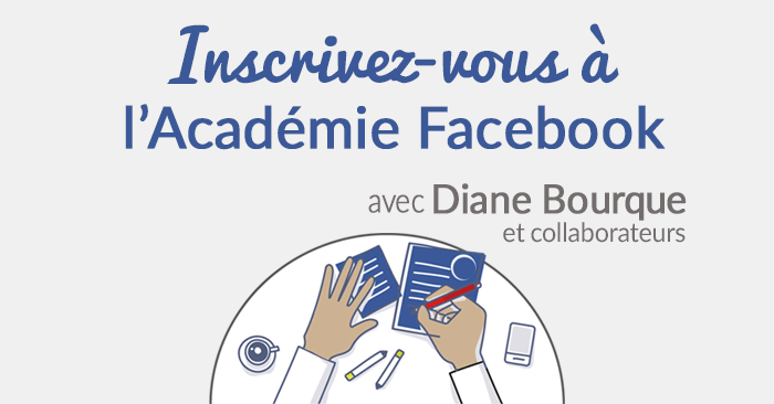 Inscription à l'Académie Facebook