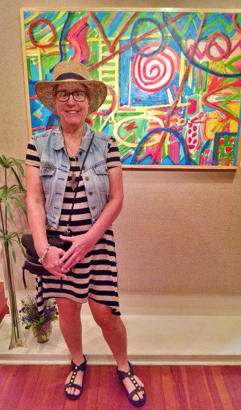 Diane w Joe Roache Painting