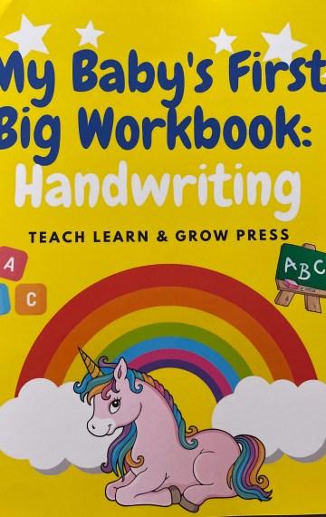My Baby's First Big Workbook: Handwriting