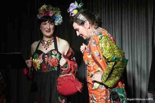 Diane Goldie fashion show at the Century Club on Shaftesbury Avenue