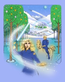 Starseeker Gosar Palace colored in Photoshop   Diane Gronas