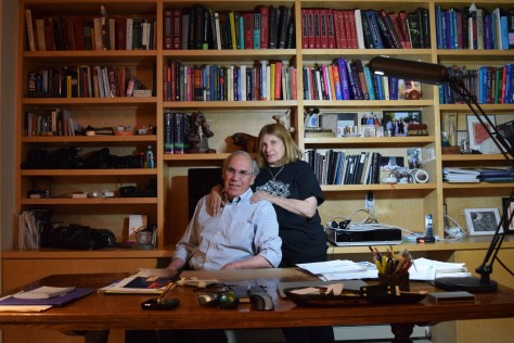 Neurologist Dr. Gary Rosenberg and Artist Evelyn Rosenberg Photo 2016 © Diane Joy Schmidt
