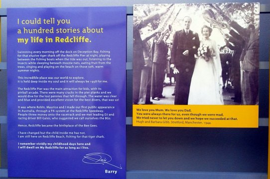 Tribute to family life in Redcliffe