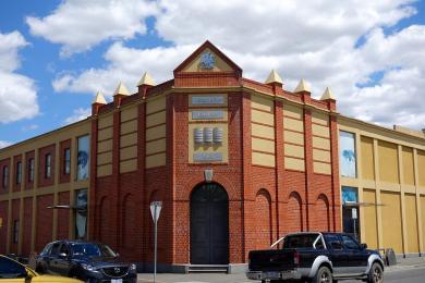 J.Boag Brewery- new building but still in brick.