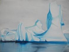 Sketch - Iceberg Markham Sound FJL 18x24