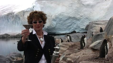 Cheers to Penguins Stonington Island