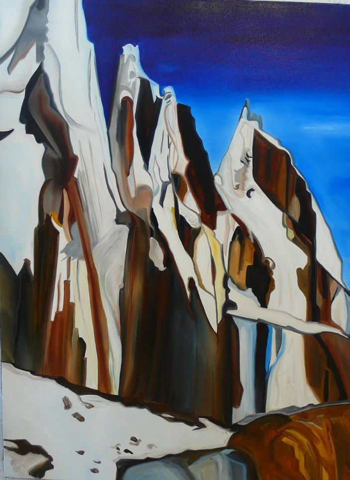 A Desolate Place North West Passage 36x48