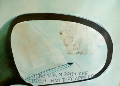 Polar Bear Closer Than It Appears Churchill 18x24