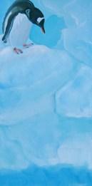 A Leap of Faith Antarctica Peninsula 20x40