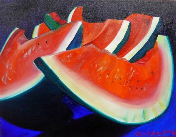 For The Love Of Watermelon 24x30