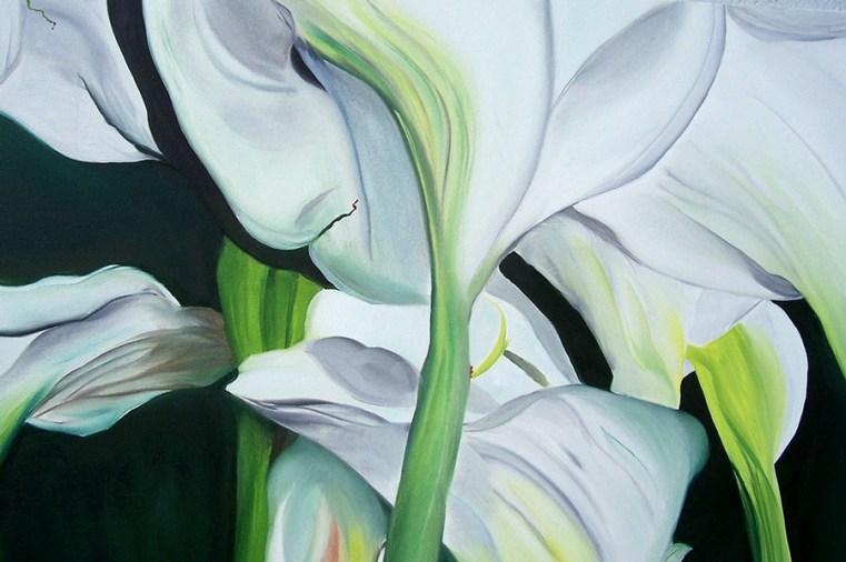 Georgio's Calla Lillies (2) 24x30