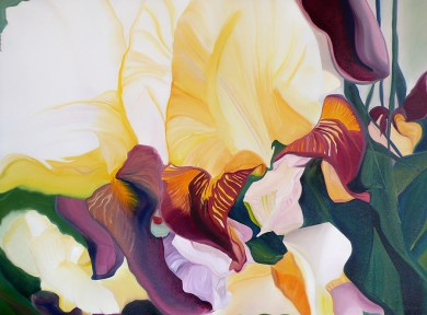 Lilies of the Loire Valley 36x48