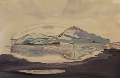 Iceberg-Scoresby-Sound-18x24