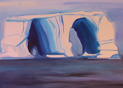 Two-Tunnel-Iceberg-18x24