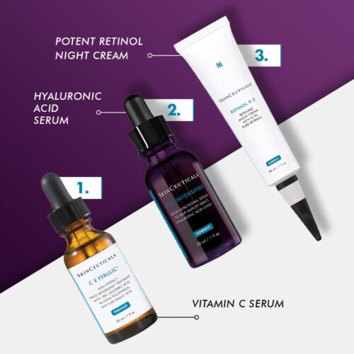 Skinceuticals Age Renewal System Diane Nivern contents