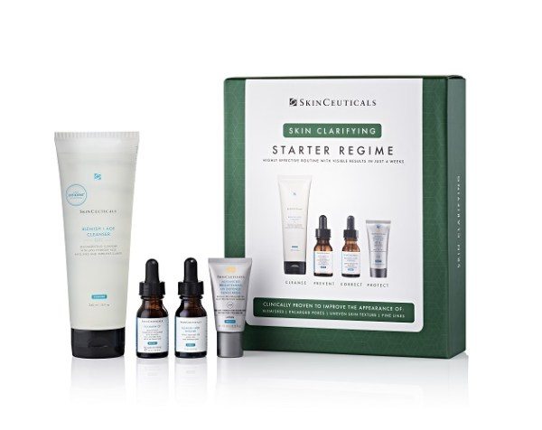 Skinceutical clarifying starter kit diane nivern manchester products for spot prone skin
