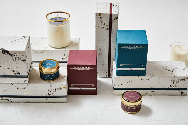 Marble Bathroom Design Toiletries Range – Stylish Packaging