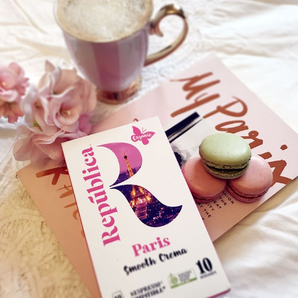Take me to Paris with Republic Coffee Pods (designed for Instagram)