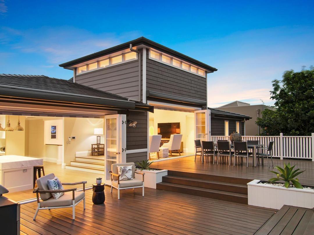 Dream Hamptons Style Home in Mosman - Indoor/Outdoor areas