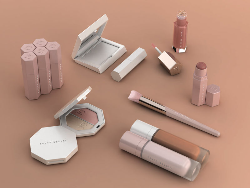 fenty by Rhianna is a packaging designer's dream