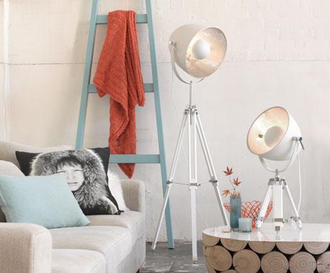 Living Room Lighting via Beacon Lighting