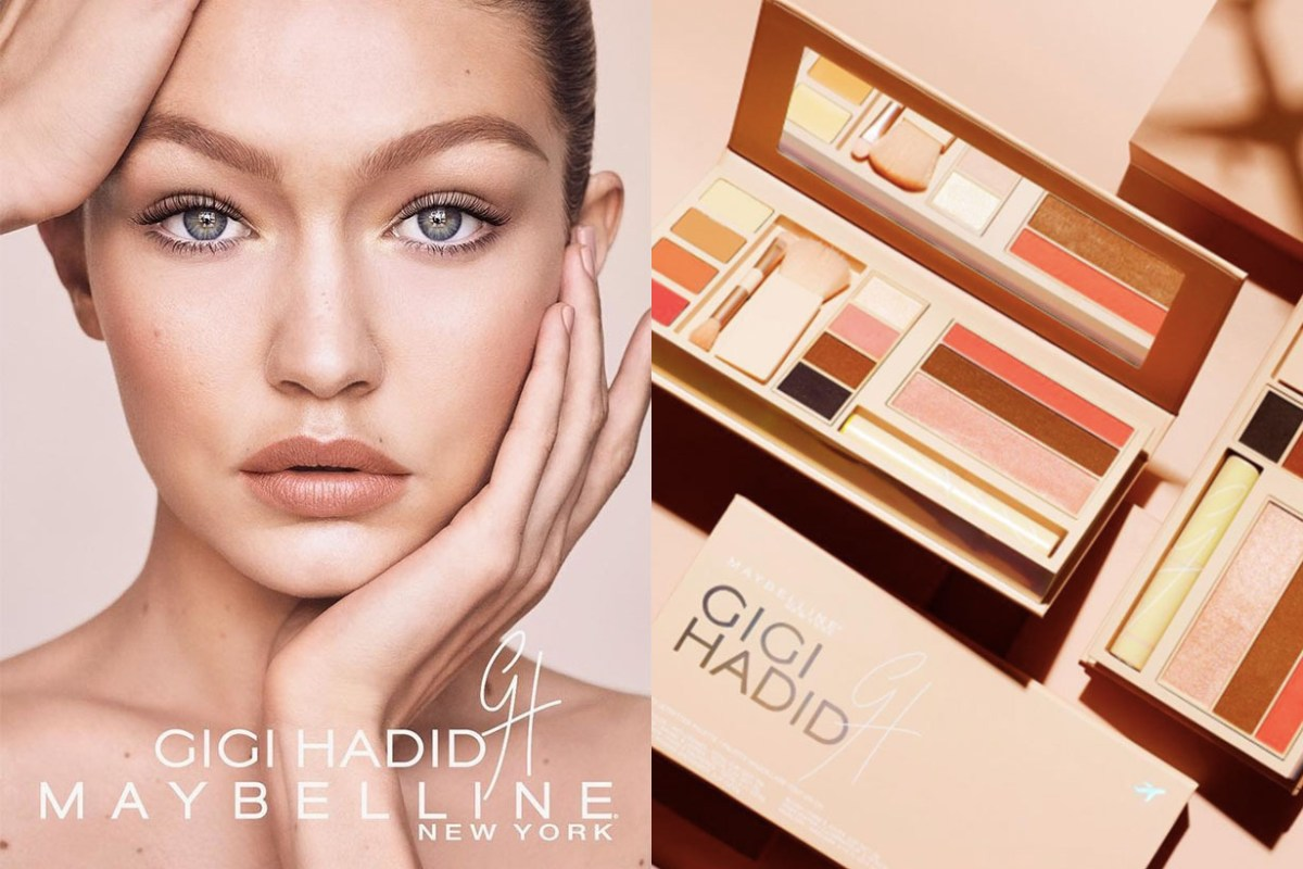 Gigi x Maybelline Product Collaboration