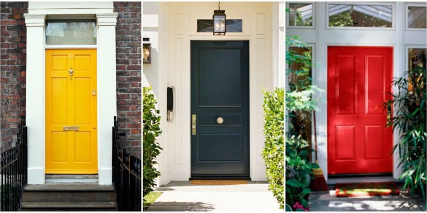 front door colours - source: House Beautiful