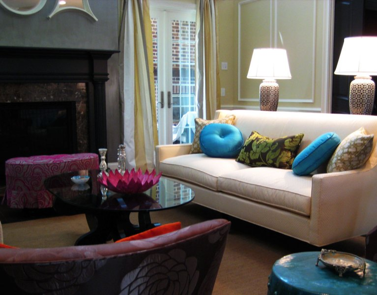 hollywood regency style home