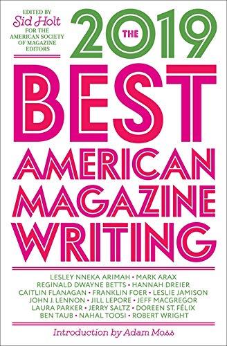 Best American Magazine Writing 2019
