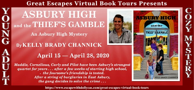 Asbury High and the Thief's Gamble Guest Post and Giveaway