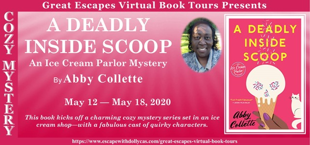 A Deadly Inside Scoop Review, Interview and Giveaway