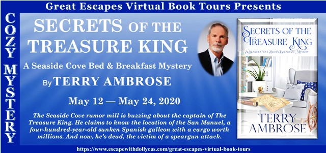Secrets of the Treasure King Guest Post and Giveaway