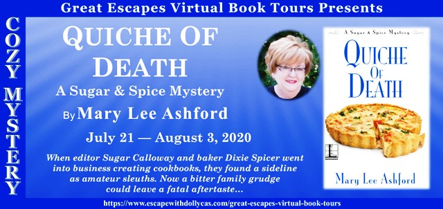Quiche of Death Guest Post and Giveaway
