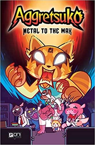 Aggretsuko Metal to the Max